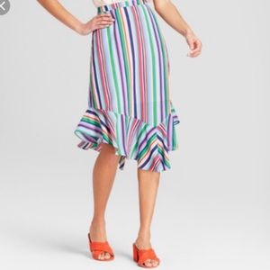 A New Day striped skirt